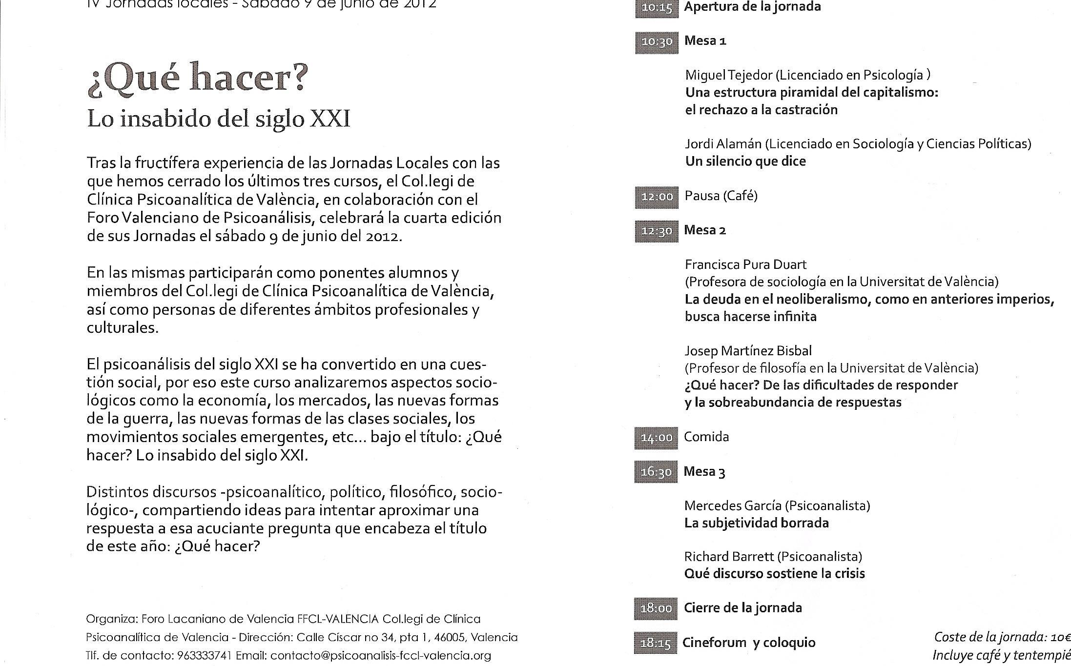 UNA ESTRUCTURA DEL CAPITALISMO PIRAMIDAL (Valencia, 2012)